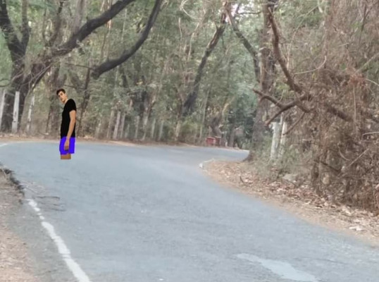 Aarey colony... man of around 35-36 yrs of age