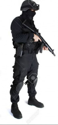 Black commando.