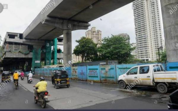 Mumbai metro bridge